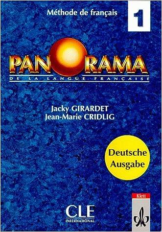 Panorama De La Langue Francaise Bd 1 Livre D Eleve