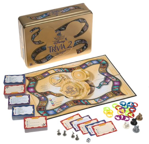 The Wonderful World of Disney Trivia 2: The Sequel Game by Mattel