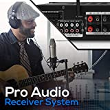 Wireless Bluetooth Home Stereo Amplifier - Hybrid