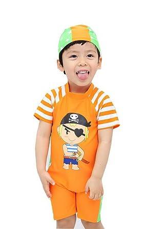 Amazon.com: Privado Boys cuerpo trajes Naranja con ...