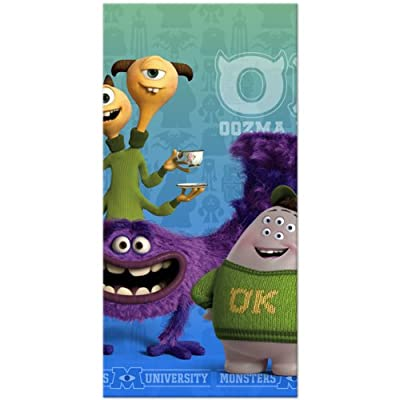 Hallmark Monsters University Inc. Plastic Tablecover (1ct): Toys & Games