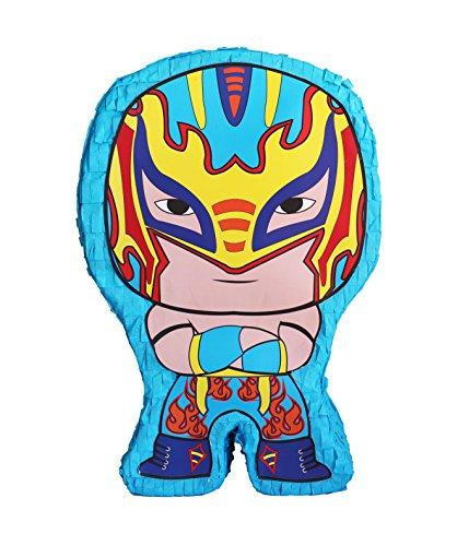 Aztec Imports Pinatas Lucha Kings- Blue -