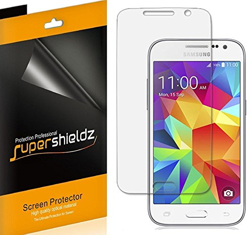 Cheap Screen Protectors [6-Pack] Supershieldz- Anti-Bubble Clear Screen Protector For Samsung Galaxy Core Prime (Sprint..