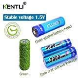 Kentli Constant 1.5v AA Rechargeable Battery