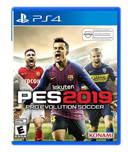 PlayStation 4 Pro Evolution Soccer 2019