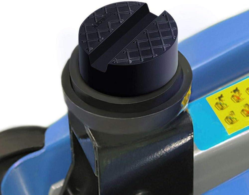 Volwco Wagenheber Gummiauflage Universal Gummi Auflage Jack Pads F/ür Autoheber Rangierwagenheber Hebeb/ühnen Unterstellbock
