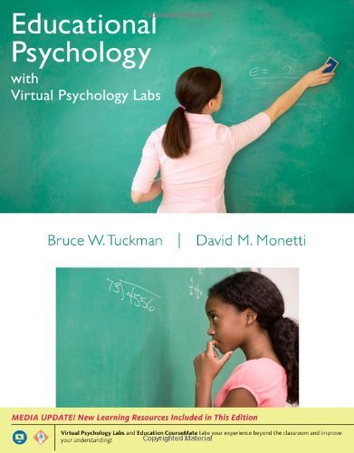 Educational Psychology with Virtual Psychology Labs 1st edition by Bruce W. Tuckman, David M. Monetti (2012) Paperback