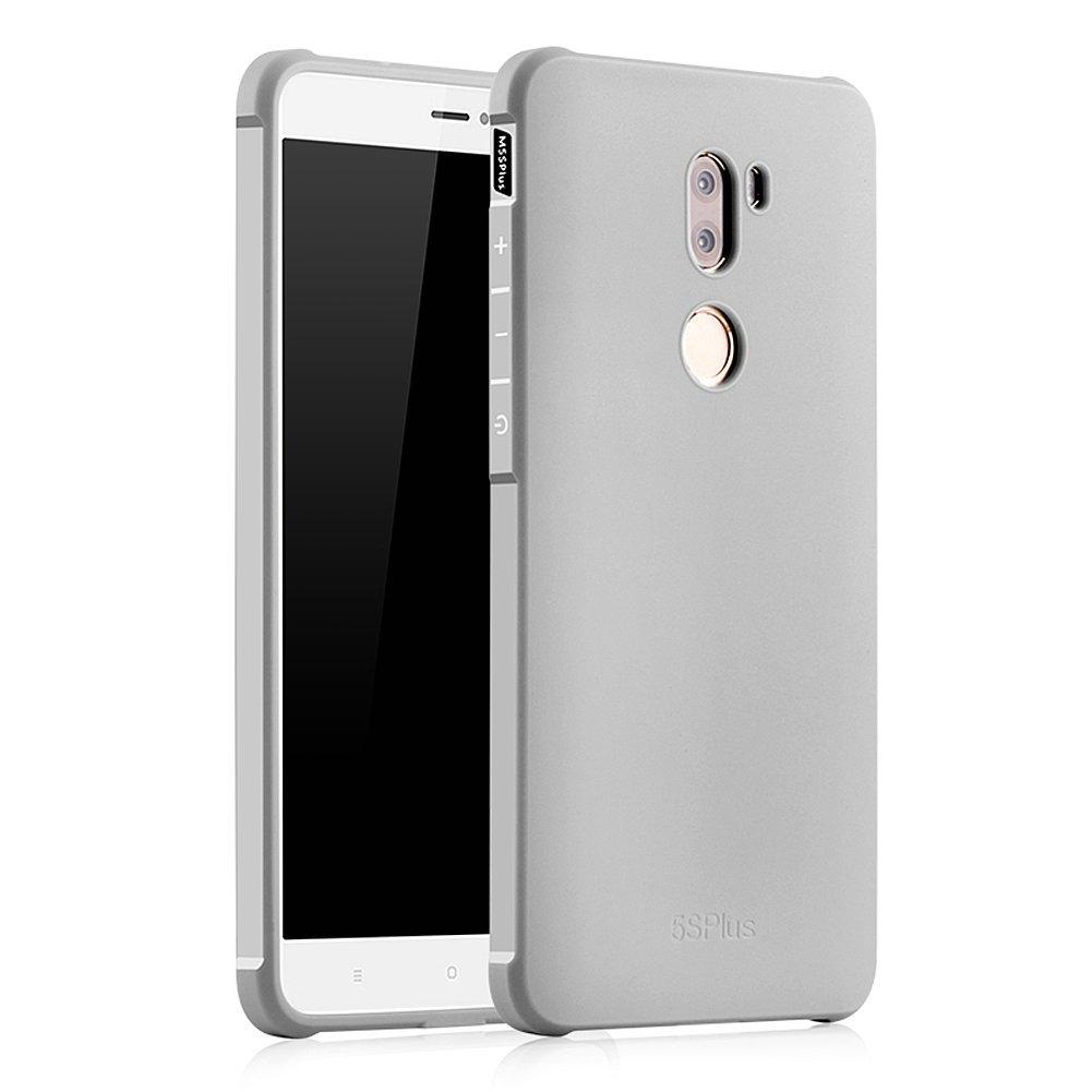 Hevaka Blade Xiaomi Mi 5S Plus Funda - TPU Carcasa Smart Case Cover Para Xiaomi Mi 5S Plus - Gris