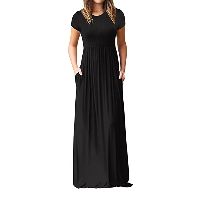 806e259334d Yuxing Maxi Dresses for Women Cotton