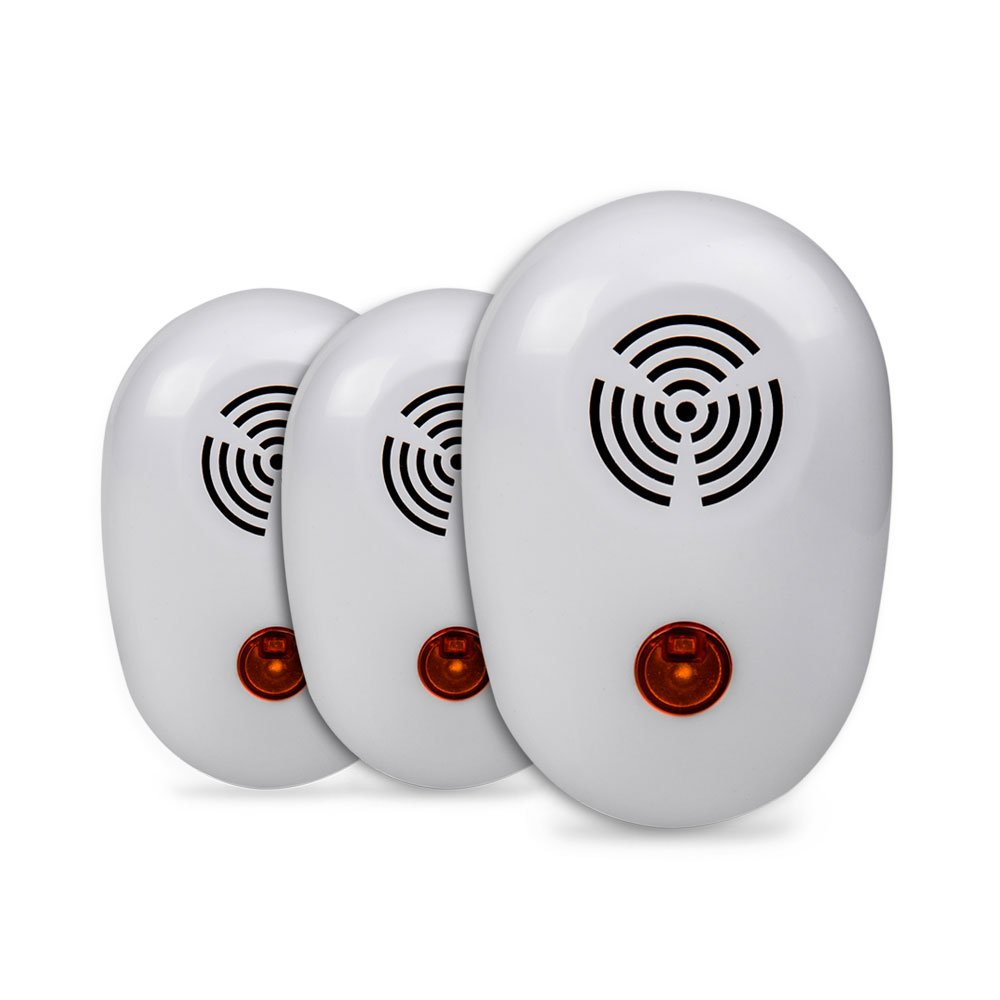 UltraSweep Mini 3-Pack: Plug-In Ultrasonic Electronic Pest Repeller Gets Rid of Mice, Rats & Other Pests