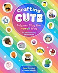 Let Dani Banani of the popular Etsy shop FunUsual Suspects show you how to make 50 kawaii creations out of inexpensive and easy-to-find polymer clay. Kawaii—the culture of cuteness, originating in Japan—is everywhere, and it's time to ...