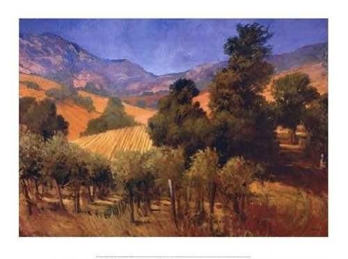 Philip Craig - Southern Vineyard Hills NO LONGER IN PRINT - LAST ONE!!