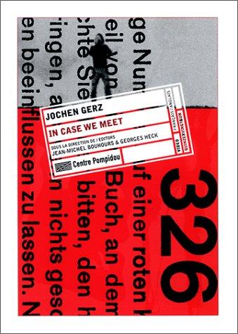 Download Jochen Gerz: L'elan Suspendu (English and French Edition) pdf epub