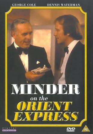 minder on the orient express dvd