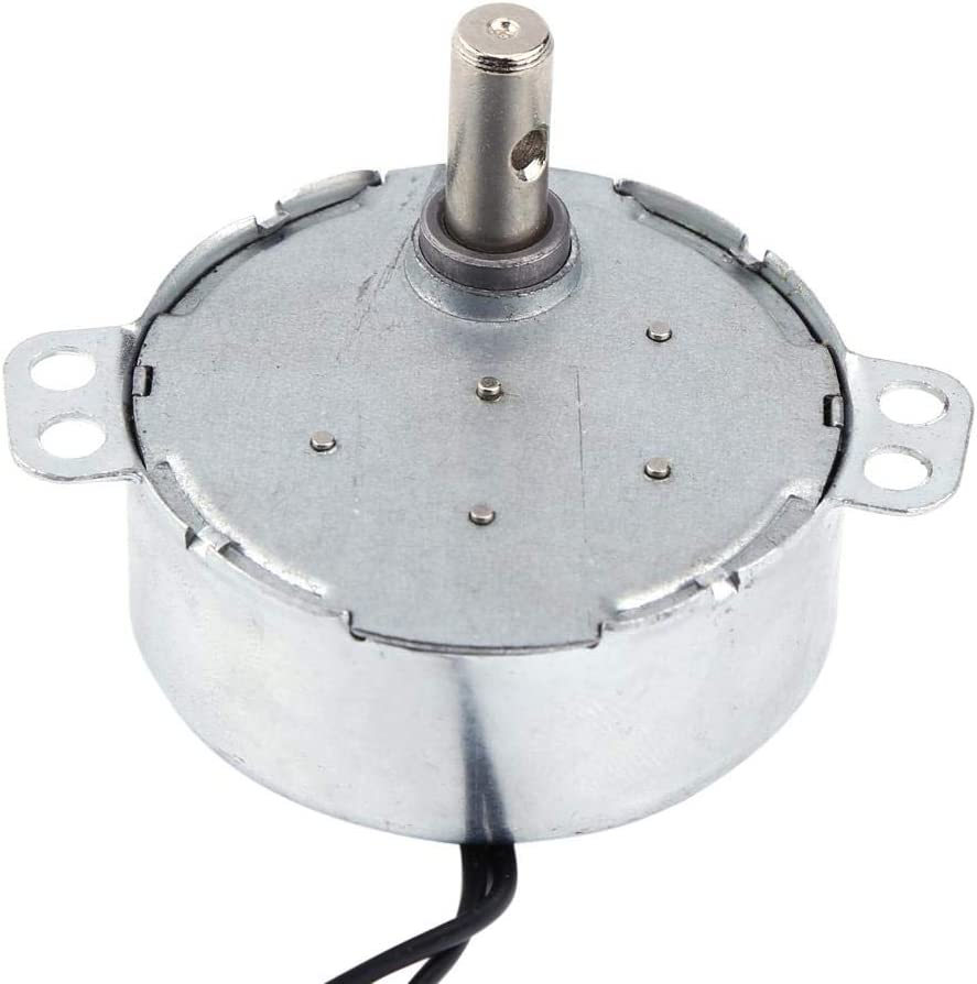 2.5-3RPM Moteur synchrone 220-240V AC Motor/éducteur 4W CW//CCW