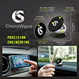 Universal Magnetic Car Mount,Cell Phone Holder,For any Phone,GPS or Light Tablet for iPhone 6/6S/SE/ 6 Plus/6S Plus/iPhone 5/5S/Galaxy S5/S6/S7/S6 Edge Note 3/4/5/ Fits All Smartphones.