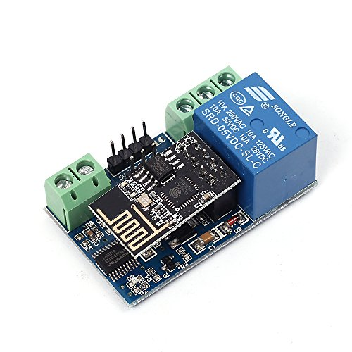 WHDTS ESP8266 WiFi 5V 1 Channel Relay Delay Module IoT Smart Home Remote Control Android Mobile Phone APP Control 400m Transmission Distance