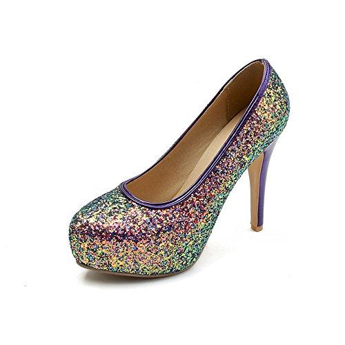 green scarpe con fine codice sposa scarpe Punta dimensione con singolo ultra vwfTRxaq