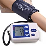 Pwhite Sphygmomanometer health Automatic Digital Upper Arm Blood Pressure Monitors