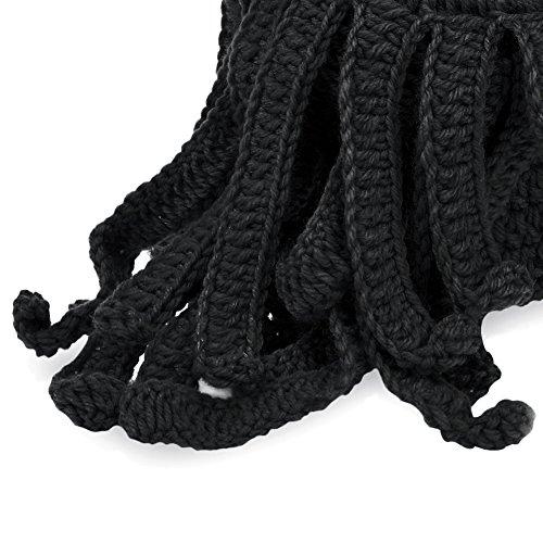 726d24a73cc VBIGER Beard Hat Beanie Hat Knit Hat Winter Warm Octopus Hat Windproof Funny  For Men
