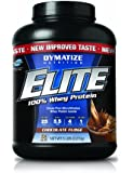 Dymatize Nutrition Elite Whey Shake, Chocolate Fudge, 5 Pound ( Packaging may vary  )