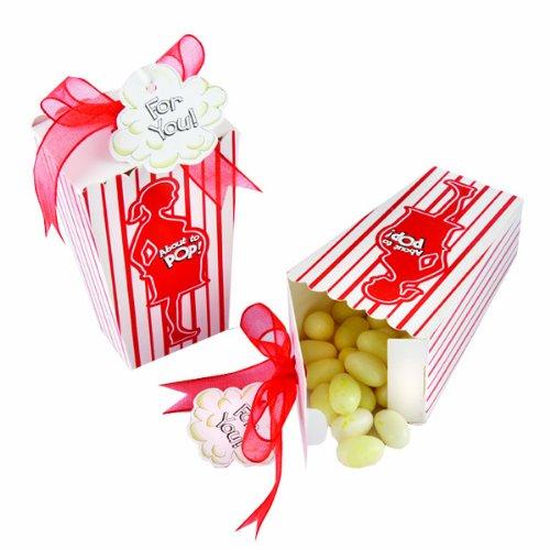 Kate Aspen ''About To Pop'' Popcorn Favor Box - Set of 24 by Kate Aspen