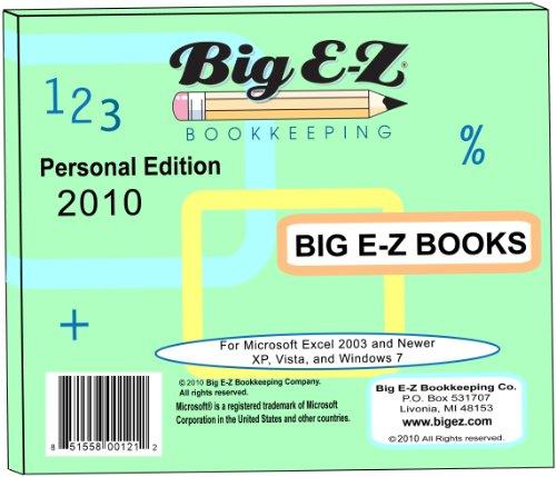 Big E-Z Books - Personal Edition 2010