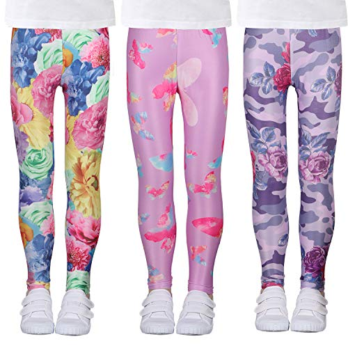 LUOUSE Girls Stretch Leggings