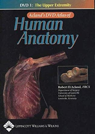 Acland\'s Atlas of Human Anatomy [DVD]: Amazon.co.uk: Robert D ...