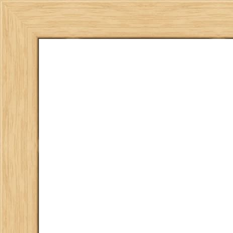 Amazon.com - 20x30 - 20 x 30 Natural Oak Flat Solid Wood Frame with ...