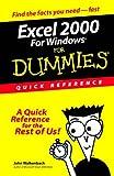 Excel 2000 for Windows for Dummies®, John Walkenbach, 0764504479