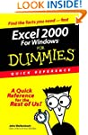 Excel 2000 for Windows For Dummies Qu...