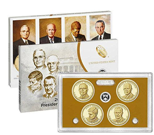 - 2015 S US Presidential Proof Set Beautiful Cameo Finish Proof