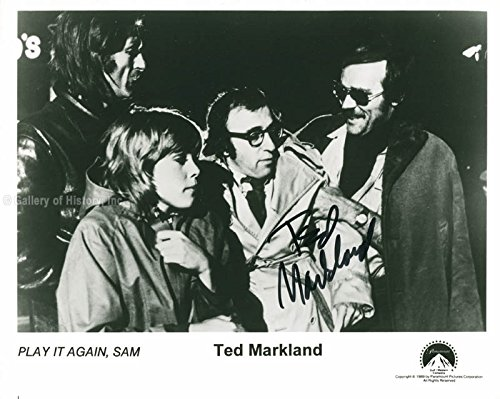 Ted Markland - Photograph Signed