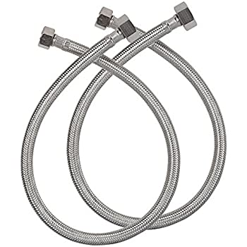Lasco 10 0996 96 Inch Water Supply Line Braided Stainless