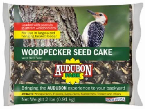 (Audobon Park 2 lb Woodpecker Wild Bird Seed Cake - Quantity 12)