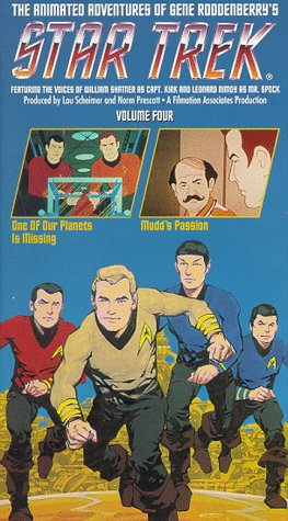Star Trek - The Animated Series, Vol. 4: One of Our Planets Is Missing/ Mudd's Passion [VHS] (Star Trek Cartoon)