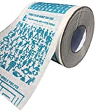 Ideas In Life Activity Toilet Paper – Mazes Puzzles and Games Novelty Funny Gag Gift Bathroom Paper Roll On Every Square Fits On Any Holder