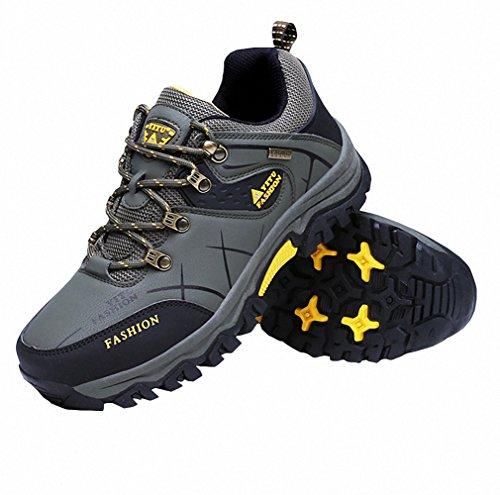 Ben Sports Herren Wanderhalbschuhe Wanderstiefel Walkingschuhe Traillaufschuhe Laufschuhe,39-47 Grün