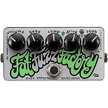ZVEX Fat Fuzz Factory Germanium Fuzz Guitar/Bass Pedal