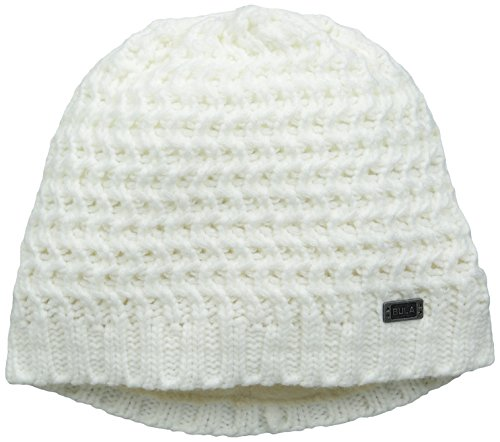 Bula Women's Fishbone Beanie, White, One Size