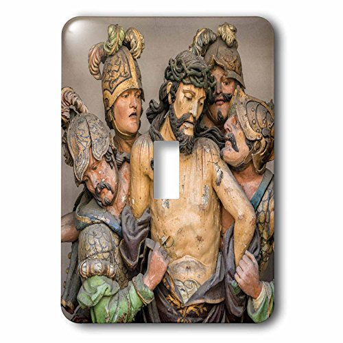 Danita Delimont - Religion - Portugal, Guimaraes, detail of stations of the cross - Light Switch Covers - single toggle switch (lsp_227813_1) by 3dRose