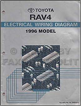 1996 Toyota RAV4 Wiring Diagram Manual Original: Toyota: Amazon ... 2004 toyota rav4 electrical wiring diagram Amazon.com
