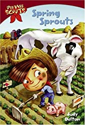 Pee Wee Scouts: Spring Sprouts (A Stepping Stone Book(TM))