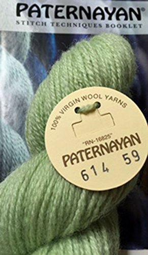 Paternayan Needlepoint 3 Ply Wool Yarn Color 614 Hunter Green Light