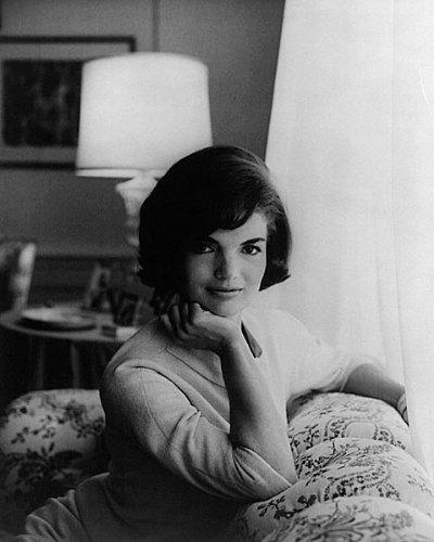 1st Lady Jackie Kennedy White House 8x10 Silver Halide Photo Print