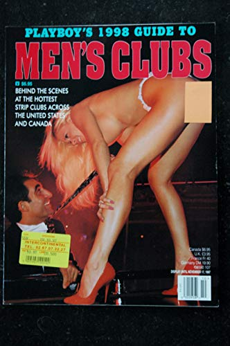 Playboy Guide - PLAYBOY'S 1998 Guide To Men's Clubs 1997 10 Chelsea Sharp Shari Lauren CRAZY HORSE TOO MONS VENUS SCORES BARE ELEGANCE