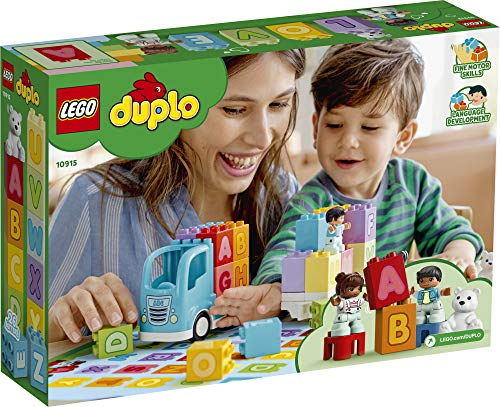 51BXIrGYhCL - LEGO DUPLO My First Alphabet Truck 10915 ABC Letters Learning Toy for Toddlers, Fun Kids' Educational Building Toy, New 2020 (36 Pieces)
