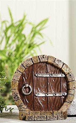 Giftcraft Outdoor Small Round Gnome Fairy Doors Deck Patio Garden