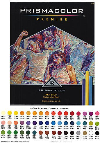 Prismacolor Art Stix Set - Prismacolor Art Stix Sets (Set of 48) 1 pcs sku# 1841126MA